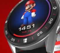 Detail TAG Heuer Connected x Super Mario: Bezel