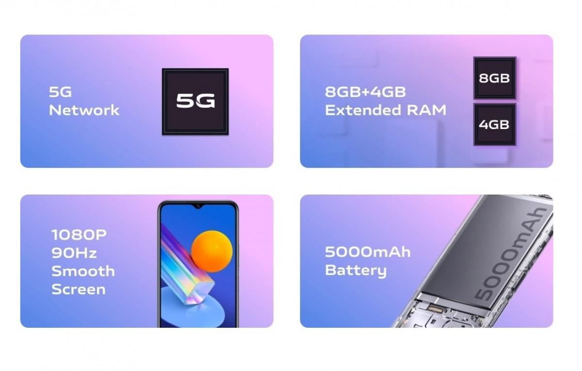 vivo Y72 5G diluncurkan di India dengan Snapdragon 480, kecepatan refresh 90Hz