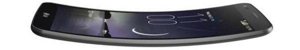 LG G Flex melengkung seperti pisang