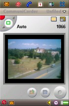 The camera app works with the flip opened and closed - Flashback: Sony Ericsson P910