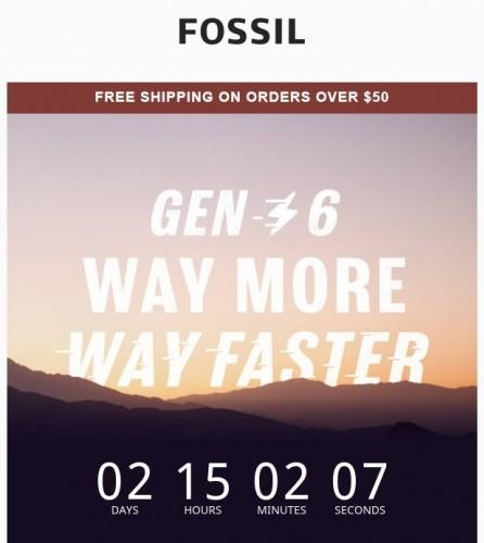 Jam tangan pintar Fossil Gen 6 akan diluncurkan pada 30 Agustus