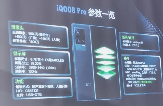 bocoran spesifikasi iQOO 8 Pro