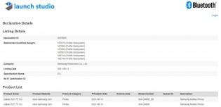 Sertifikasi Samsung Galaxy S21 FE 5G Bluetooth SIG