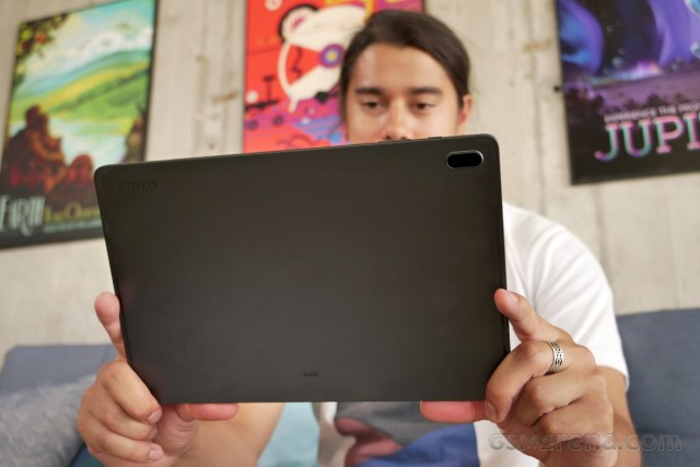 Samsung Galaxy Tab S7 FE in for review