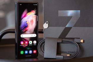 Samsung Galaxy Z Fold3 5G - apa yang ada di dalam kotak dan pengisi daya gratis