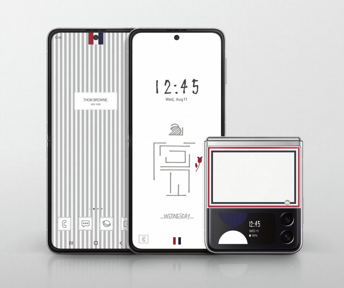 Samsung mengungkapkan edisi Thom Browne Galaxy Z Fold3, Z Flip 3, dan Watch4 Classic