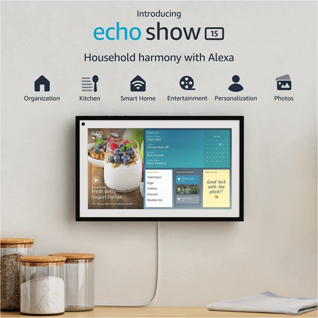 Amazon unveils new 15-inch Echo Show and Astro, an at-home robot