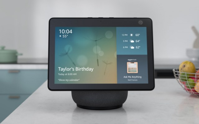 Amazon to launch a new 15-inch, wall-mountable Echo device