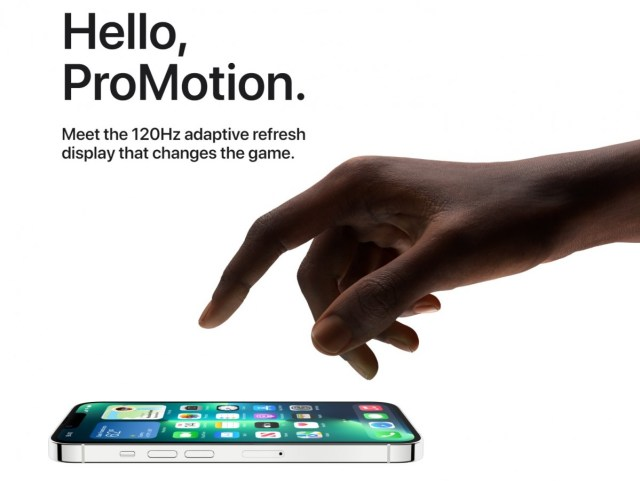 Apple iPhone 13 Pro and Pro Max aren't rendering all apps in 120Hz