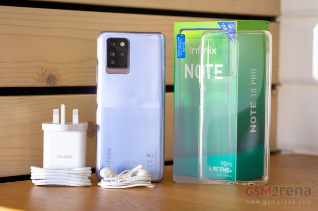 Infinix Note 10 Pro in for review