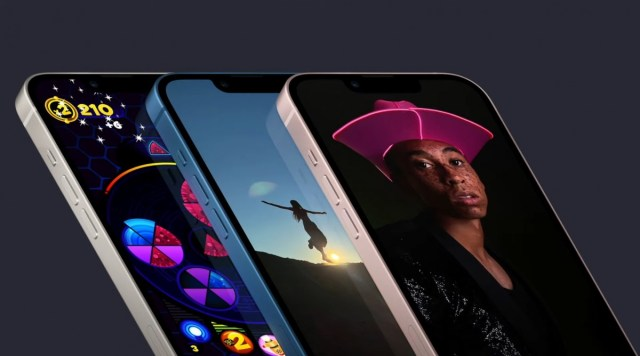 Apple 13 and 13 mini official - smaller notch, A15 Bionic and new cameras with sensor shift
