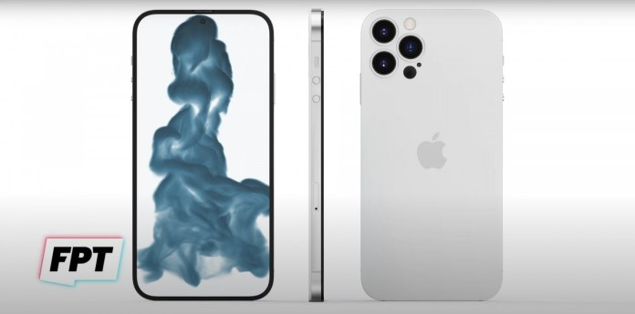 Speculative iPhone 14 Pro Max render