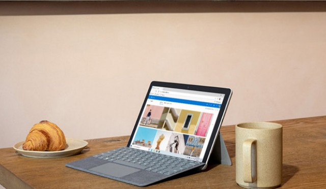Microsoft Surface Go 2 (image: Microsoft)