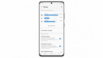One UI 4 privacy options (image: Samsung)