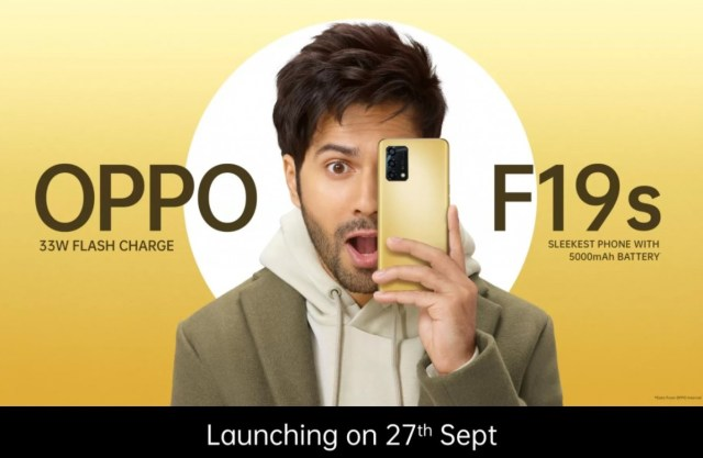 Oppo F19s launch set for September 27, Reno6 Pro 5G Diwali Edition is 'coming soon'
