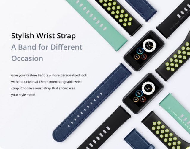 Realme Band 2 goes official with a bigger screen, bigger battery, and smartwatch-like design