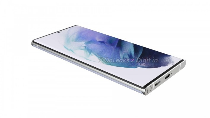 Samsung Galaxy S22 Ultra's alleged renders leak with S Pen slot