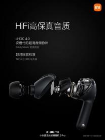 Xiaomi TWS Earphones 3 Pro: LHDC codec support