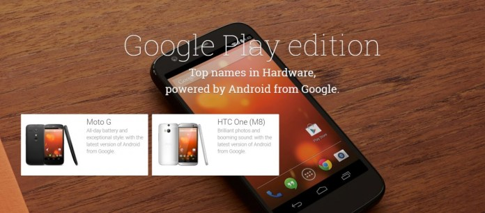 फ्लैशबैक: ''शुद्ध Android'' Google Play संस्करण फोन पर एक नजर और वे विफल क्यों हुए