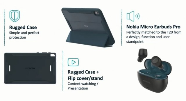 Nokia T20 tablet unveiled in Wi-Fi and 4G flavors with 10.4'' screen and long battery life