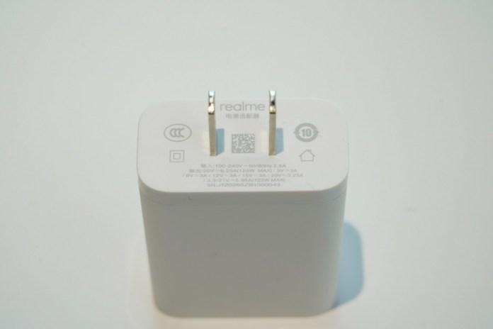 पिछले साल श्री माधव शेठ द्वारा साझा किए गए Realme के 125W UltraDart चार्जर की तस्वीर