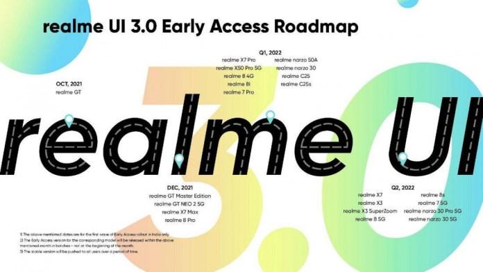 O RealmeUI 3.0 é baseado no Android 12, o primeiro beta a chegar à linha GT em outubro