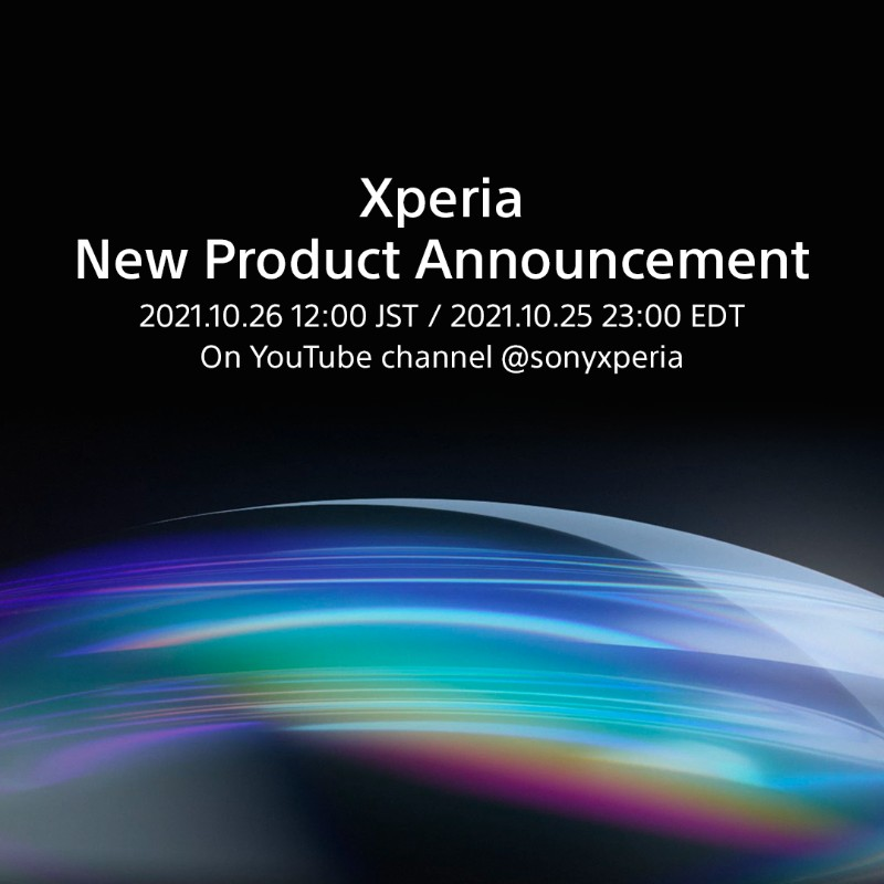 Sony Xperia has an exciting product announcement scheduled for October 26