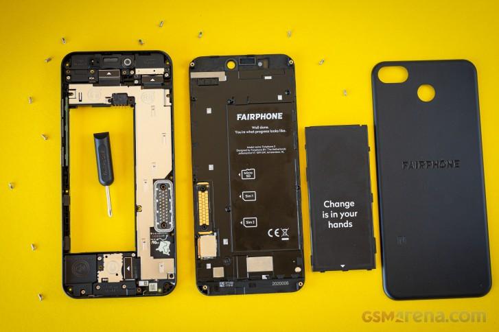 Fairphone 3+ Ulasan langsung