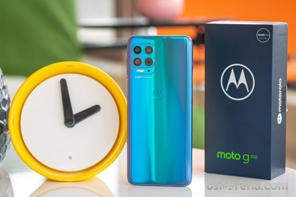 Ulasan Motorola Moto G100
