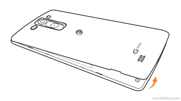 LG G Vista is headed to AT&T too, leaked manual reveals