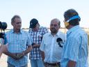 Im Gespräch mit Bürgermeuster Godel