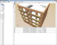 Simulación dinámica de incendios mediante FDS. Visor del modelo