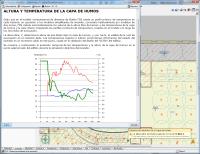 Simulación dinámica de incendios mediante FDS. Altura y temperatura de la capa de humos