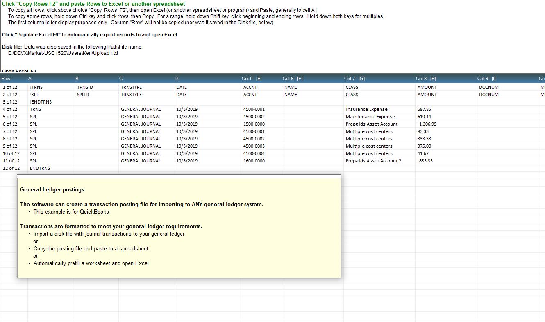 Excel Prepaid Amortization Software