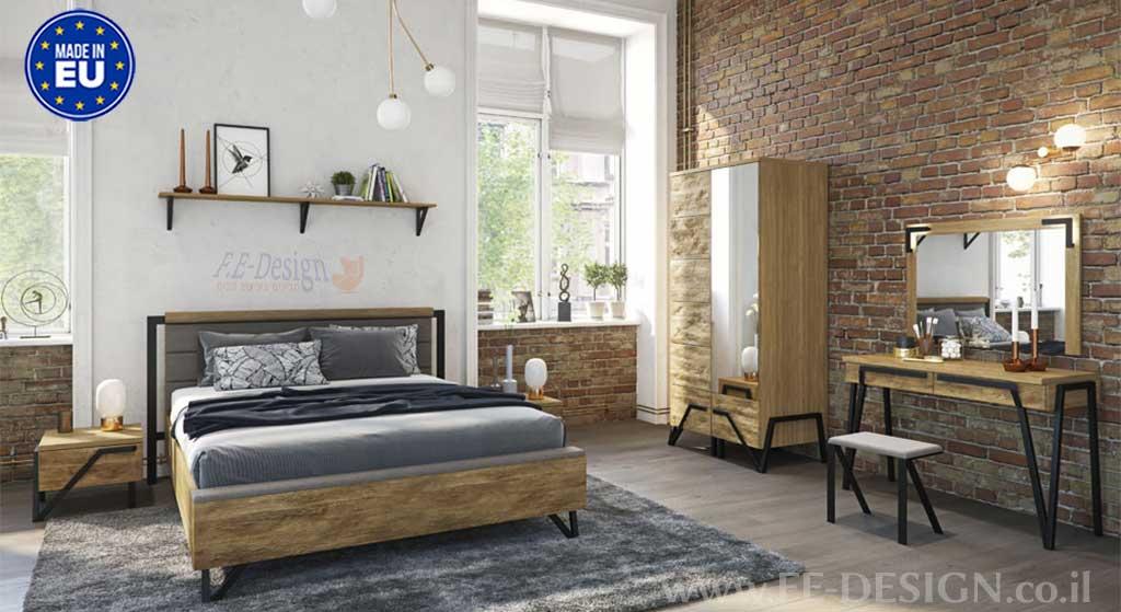 מיטות עץ מלא