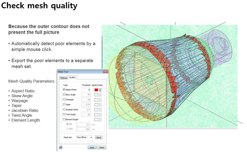 check mesh quality