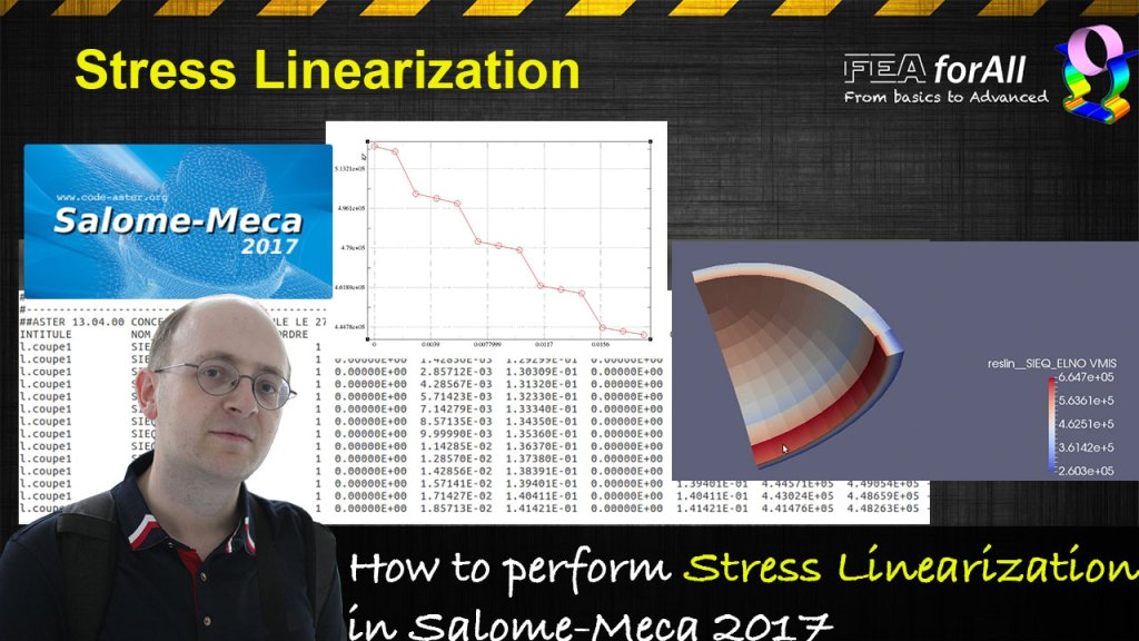[Salome-Meca Tutorial] How to perform Stress Linearization in Code_Aster