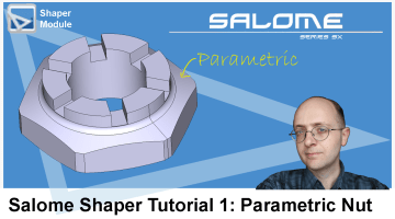 salome shaper tutorial nut