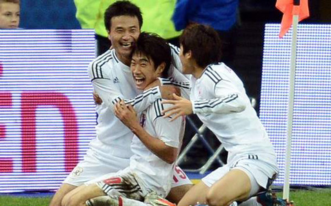 日本代表 at サンドニ