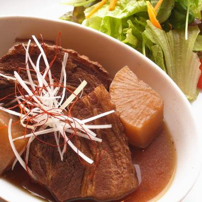 豚肉と大根の紅茶煮