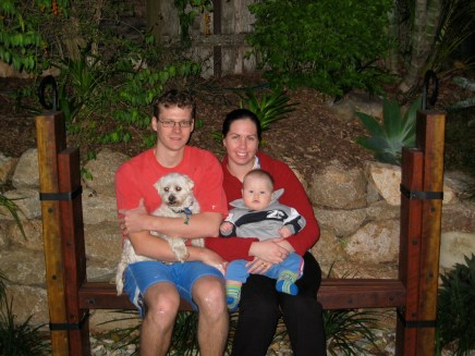 Family photo in the early days!