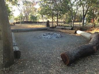 Great campfire area!