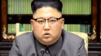 """""""Little Rocket Man"""", Kim Jung Un, May Have Bitten Off More Than He Can Chew. Photo From Video."""
