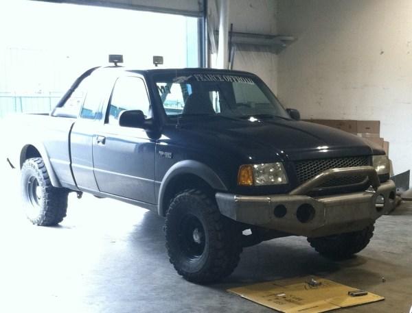 Elite Ford Ranger Modular Front Winch Bumper With Bull Bar