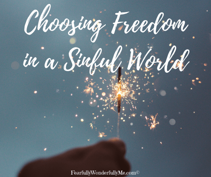 Choosing Freedom in a Sinful World