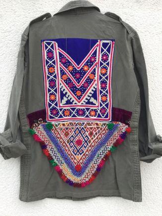 Monikmo vintage army jacket