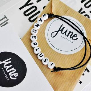 June Thirteen bracelets