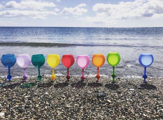 zomer glas