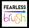 Fearless Brush logo