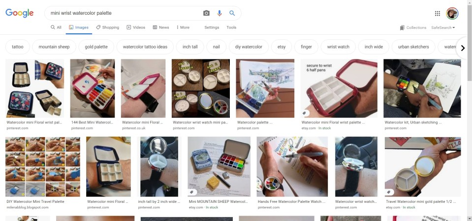Search results for watercolor wrist palettes